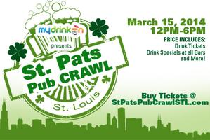 (STPATSSTL.com FOR TICKETS) St Patty's Pub Crawl St...