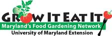 Grow It Eat It - Montgomery County Extension - University of Maryland logo