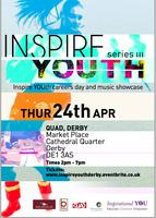 Inspirational YOU - Derby - Careers day and live music...