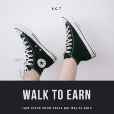 Walk To Earn Everyday logo