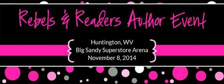 Rebels & Readers Author Event