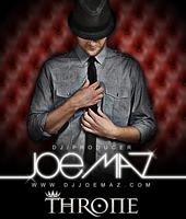 Throne Presents: Joe Maz Sat Feb 1
