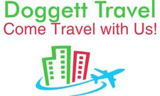 DOGGETT TRAVEL  (804) 216-1471 logo
