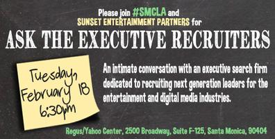 "SMCLA Presents ""Ask The Executive Recruiters"""