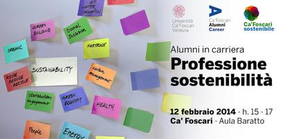Alumni in carriera - Professione sostenibilità