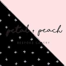 Petal and Peach Bespoke Cakery logo