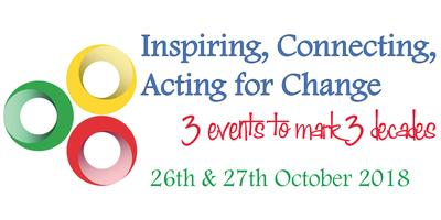 Inspiring, Connecting, Acting for Change: 3 Events to Mark 3 Decades