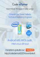 Android, Intel inside