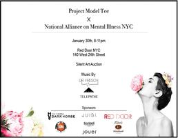 Project Model Tee x National Alliance on Mental Illness...