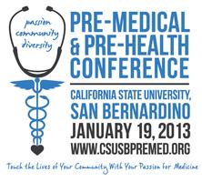Sponsorship: Pre-Medical & Pre-Health Conference at...
