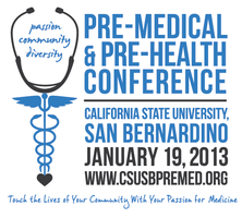 Deans: Pre-Medical & Pre-Health Conference at CSUSB