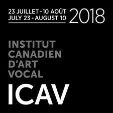 FESTIVAL D'ART VOCAL DE MONTRÉAL produit par L'INSTITUT CANADIEN D'ART VOCAL logo