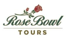 Rose Bowl Stadium Tours logo