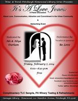 It's A Love Jones: Panel Discussion & Networking Event
