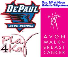 DEPAUL WOMEN'S BASKETBALL PLAY4KAY GAME - Welcome...