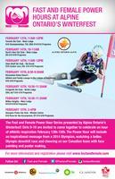 Osler Bluff Ski Club-U16 CanAm, OSL, U10-U18- F&F...
