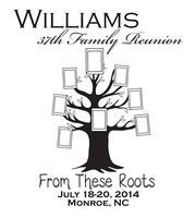 Williams Family Reunion 2014