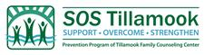 SOS Tillamook:  Support Overcome Strengthen  logo