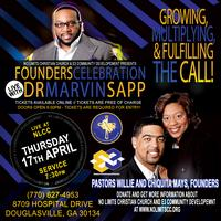 Founders' Celebration with Dr. Marvin Sapp
