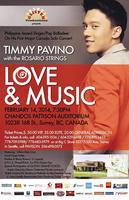 Love & Music ~ Timmy Pavino with The Rosario Strings