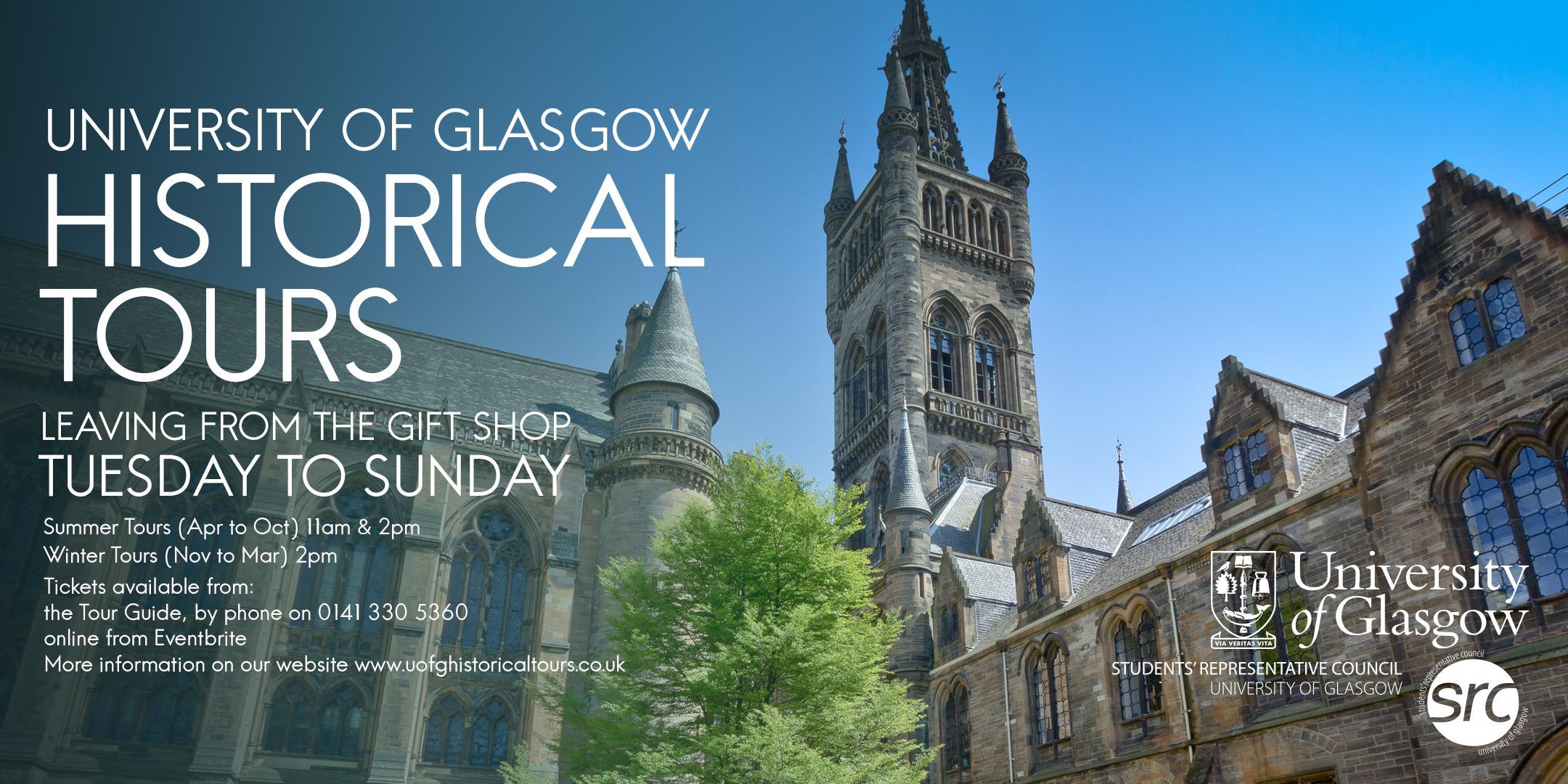 University of Glasgow Tours