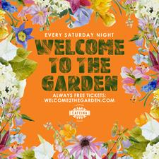 Welcome To The Garden at Cafeina Wynwood logo