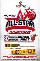 Official Pre NBA All Star Celebrity Bash Feat The Miami...