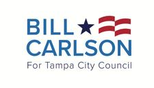 Bill Carlson for Tampa City Council District 4 logo