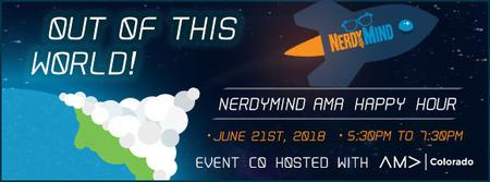 Nerdy Mind Industry Mixer - Out Of This World!