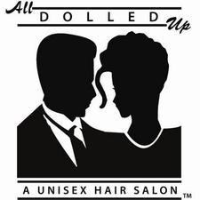 All Dolled Up Salons, Stores and Schools logo