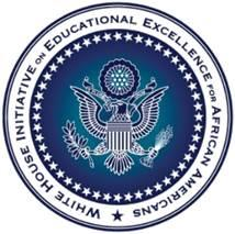 The White House Initiative on Educational Excellence for African Americans  logo