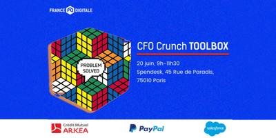 CFO Crunch Toolbox (France Digitale x Arkéa x Paypal x...