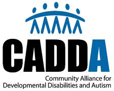 CADDA (Community Alliance for Developmental Disabilities and Autism) logo