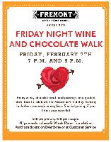 Friday Night Wine and Chocolate Walk