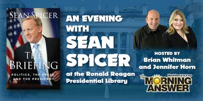 An Evening with Sean Spicer (Book Signing, Lecture and...
