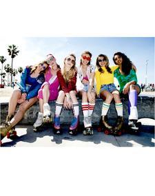 LA Roller Girls Entertainment logo