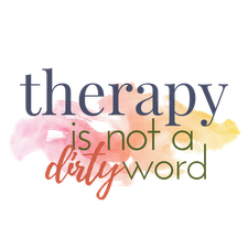Therapy is Not a Dirty Word Workshops  logo