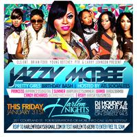 Streetz 94.5 Jazzy McBee Birthday Bash Tonight at...