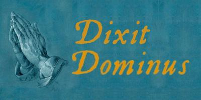 Come and sing!  Handel's Dixit Dominus