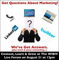 WIBIV LIve Forum: Marketing Your Business With...