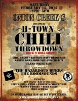 Onion Creek's 5th Annual H-Town Chili Throwdown