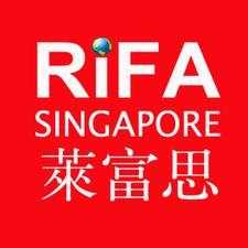 Raffles International Floristry Academy (RiFA) logo