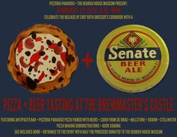 Pizza & Beer Tasting at the Brewmaster's Castle