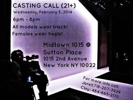 Pink and White Fashion Show - Model Casting Call