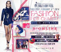 Fashion for Charity NYFW Events Sponsored by MTV