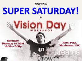 NY SUPER SATURDAY & VISION DAY EVENT