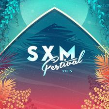 THE SXM FESTIVAL GROUP logo
