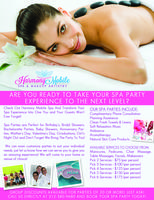 Host a Valentine's Spa Party or Couple's Spa Day ! We...
