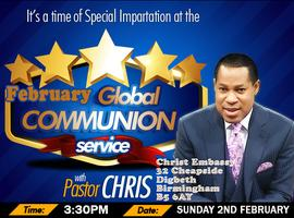 February 2014 Global Communion Service with Pastor...