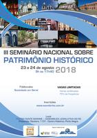 III Seminário Nacional sobre Patrimônio Histórico